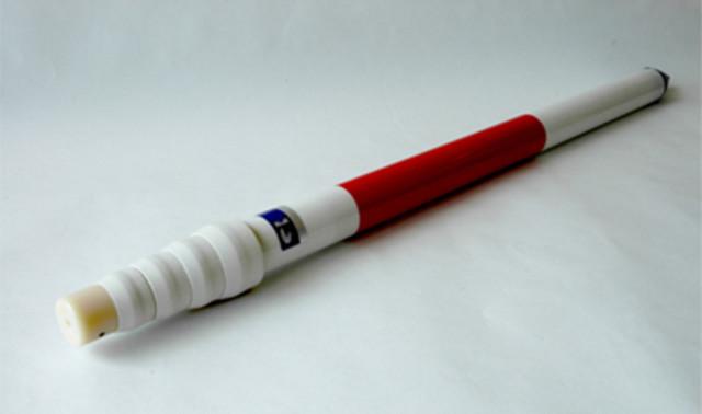 【販売終了】FRP製赤白伸縮ポール