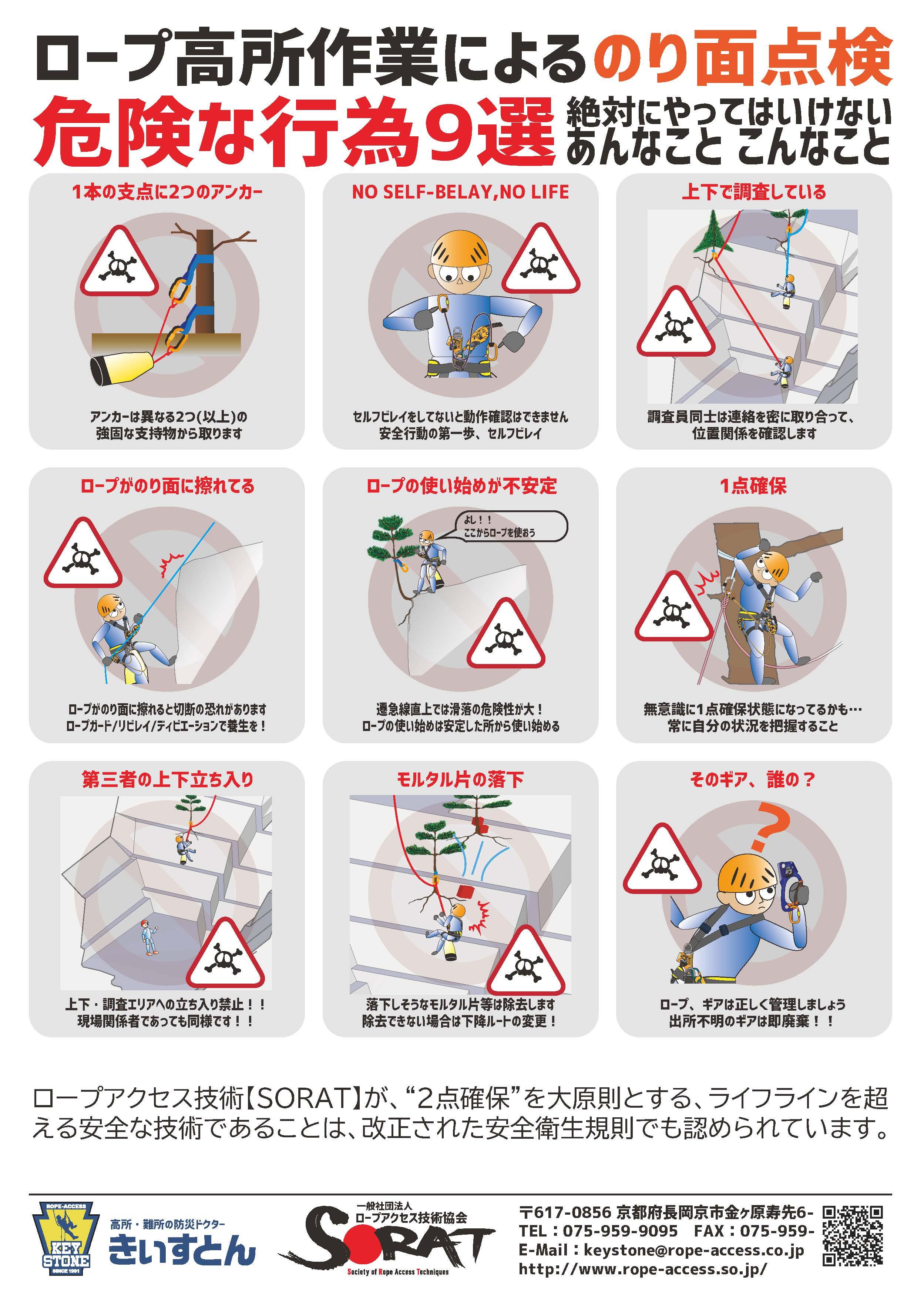 危険行為9選_のり面